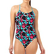 Speedo Allover Rippleback Swimsuit SS14